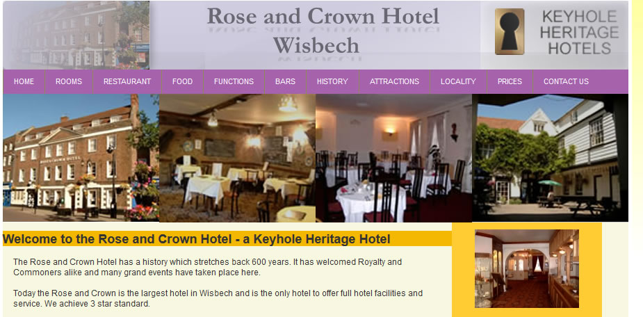 Rose and Crown Hotel - Portfolio